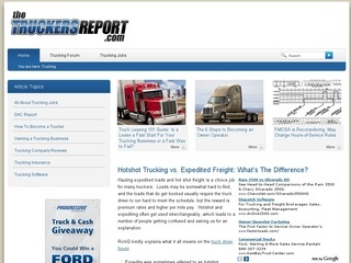 www.thetruckersreport.com